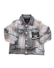 Jordan Craig - Splatter Detail Denim Jacket (2T-7))-2592693