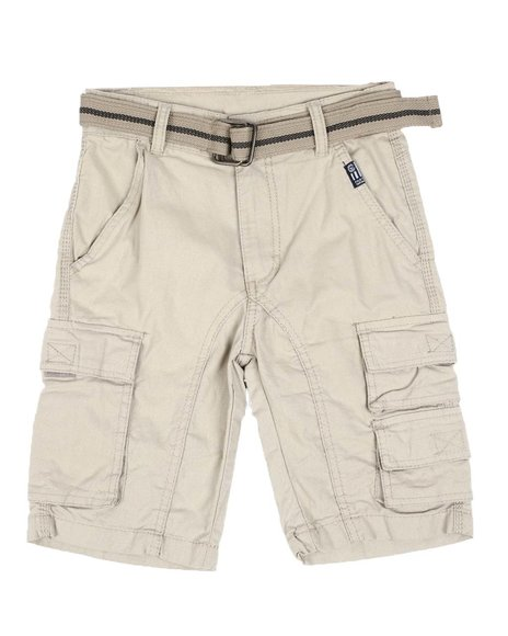 Phat Farm - Belted Twill Cargo Shorts (8-18)