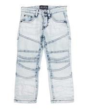 Jeans - Cut & Sew Detail Jeans (2T-4T)-2592995