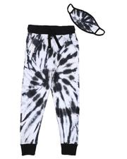 Sizes 8-20 - Big Kids - Tie Dye Joggers W/ Mask (8-18)-2589651