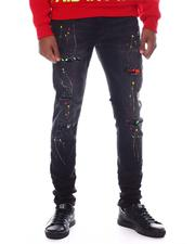 ROYAL 7 - Paint Distressed Jean-2599584