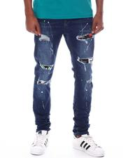 ROYAL 7 - Distressed Patch Jean-2599594