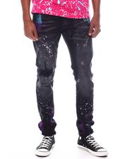 Jeans & Pants - Belted Jean with Paint Splatter-2599663