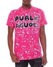 T-Shirts - Public Figure Painted Tee-2598509
