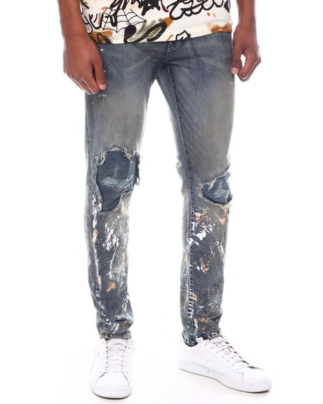 Jordan Craig - Paint Splatter Jean