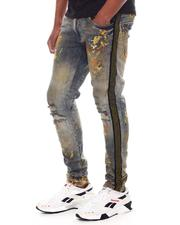 Jordan Craig - Paint Splatter Rhinestone Jean-2600340