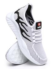 Marc Ecko Collection - Julian-03M Knit Lace Up Sneakers-2596039