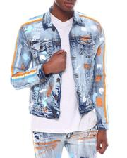 Denim Jackets - painters stripe denim jacket-2598728
