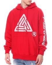 Black Pyramid - Silver Glitter Logo Hoodie-2601007