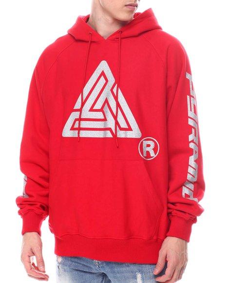 Black Pyramid - Silver Glitter Logo Hoodie