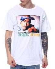 Cross Colours - TUPAC BLUE BANDANA T-SHIRT-2600859