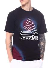 Black Pyramid - Spray Effect Maze Tee-2600995