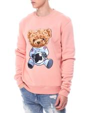 Sweatshirts & Sweaters - World BEAR CHENILLE & PRINT Crewneck Sweatshirt-2600247