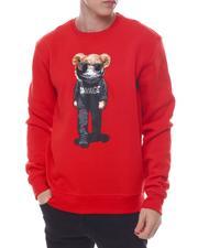 Buyers Picks - Savage BEAR CHENILLE & PRINT Crewneck Sweatshirt-2600570