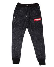Sizes 8-20 - Big Kids - Fresh Streak Print Fleece Joggers (8-20)-2596278