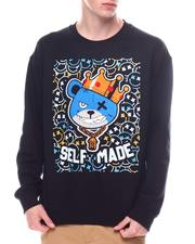 Sweatshirts & Sweaters - Chenille Self Made Teddy Crewneck Sweatshirt-2601595