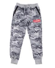 Sizes 8-20 - Big Kids - Legend Interlock Joggers (8-20)-2596166