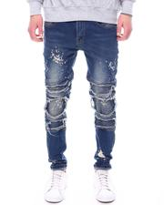 Jeans - Moto Jean w Self Ribbed Packing Detail-2601802