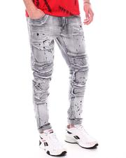 Jeans - Moto Jean w Self Ribbed Packing Detail-2601814