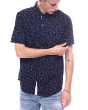 Men - Arrow Print SS Button down shirt-2601475