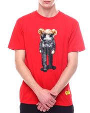 Men - Savage BEAR CHENILLE & PRINT COMBO TEE-2600528