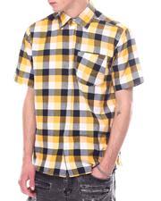 Men - Tri Color BOX Plaid Shirt-2601395