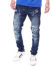 Men - Articulated Jean w Paint Splatter-2601376