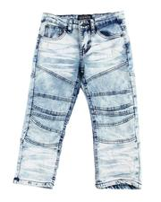 Parish - Cut & Sew Detail Jeans (4-7)-2596259