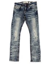 Jeans - Wash Out Biker Jeans (8-20)-2596270