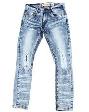 Sizes 8-20 - Big Kids - Wash Out Biker Jeans (8-20)-2596344