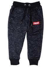 Sweatpants - Fresh Streak Print Fleece Joggers (2T-4T)-2596435