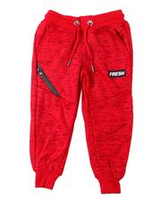 Sweatpants - Fresh Streak Print Fleece Joggers (2T-4T)-2596445