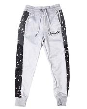 Sizes 8-20 - Big Kids - Hustle Interlock Joggers w/Paint Splatter (8-20)-2596484