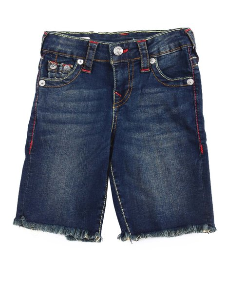True Religion - Slim Single End Shorts (4-7)