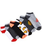 DRJ SOCK SHOP - 6Pk Spicy No Show Socks-2596155