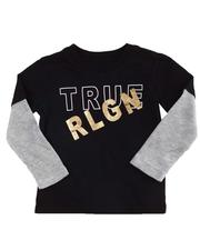 Boys - Long Sleeve Logo Tee (2T-4T)-2596792