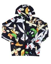 Sizes 8-20 - Big Kids - Looney Tunes Wind Jacket (8-20)-2596944