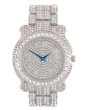 Buyers Picks - Analog Watch With Blinged Out Bracelet Set-2598437