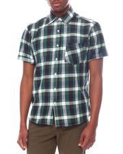 Men - Buffalo Plaid Short Sleeve Button Down-2601420