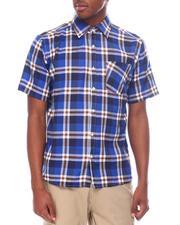 Men - Hipster Plaid Short Sleeve Button Down-2601455