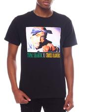Cross Colours - TUPAC BLUE BANDANA T-SHIRT-2600853