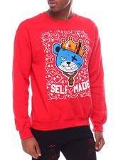 Sweatshirts & Sweaters - Chenille Self Made Teddy Crewneck Sweatshirt-2601589