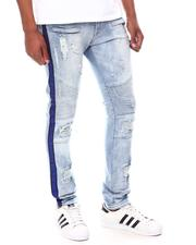 Skinny - Embellished Tape Moto Jean-2601859