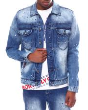 Denim Jackets - FLYEST DENIM JACKET-2602314