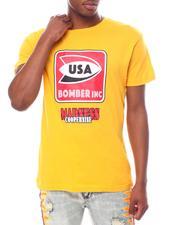 Cooper 9 - Bomber Inc Graphic Tee Mustard-2602192