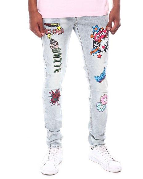 Cooper 9 - No Chill Graphic Jeans