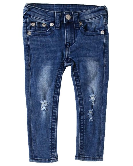 True Religion - SE Midnight Stitch Jeans (2T-4T)