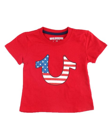 True Religion - American HS Tee (2T-4T)