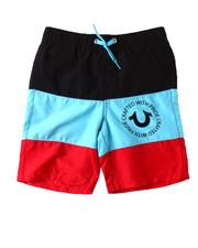 Boys - Big Stripe Swim Trunks (2T-7)-2598914