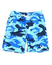 Boys - Camo Swim Trunks (2T-7)-2598919